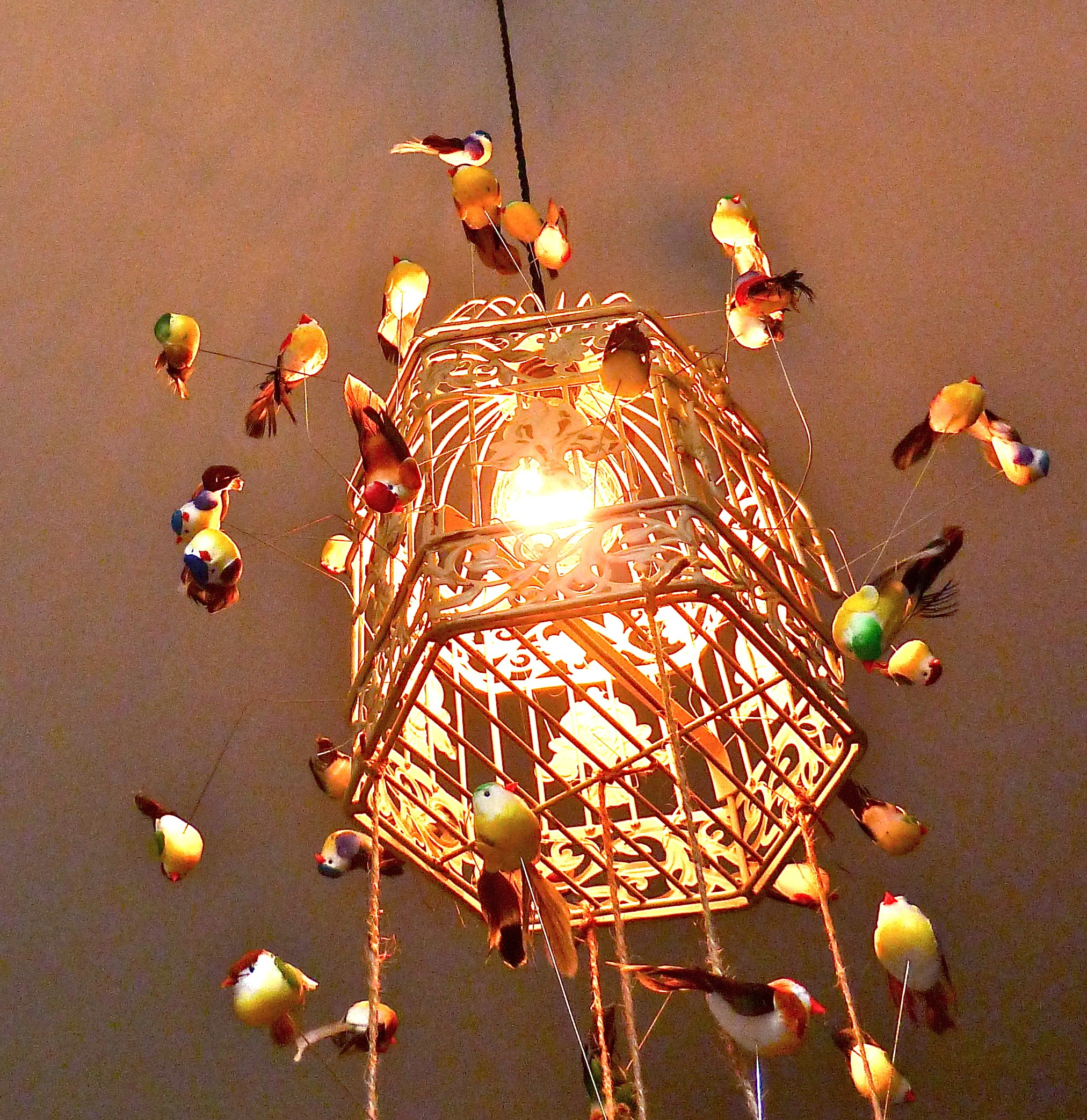 in under bless diy of work required birdcage electrical lamp no minutes