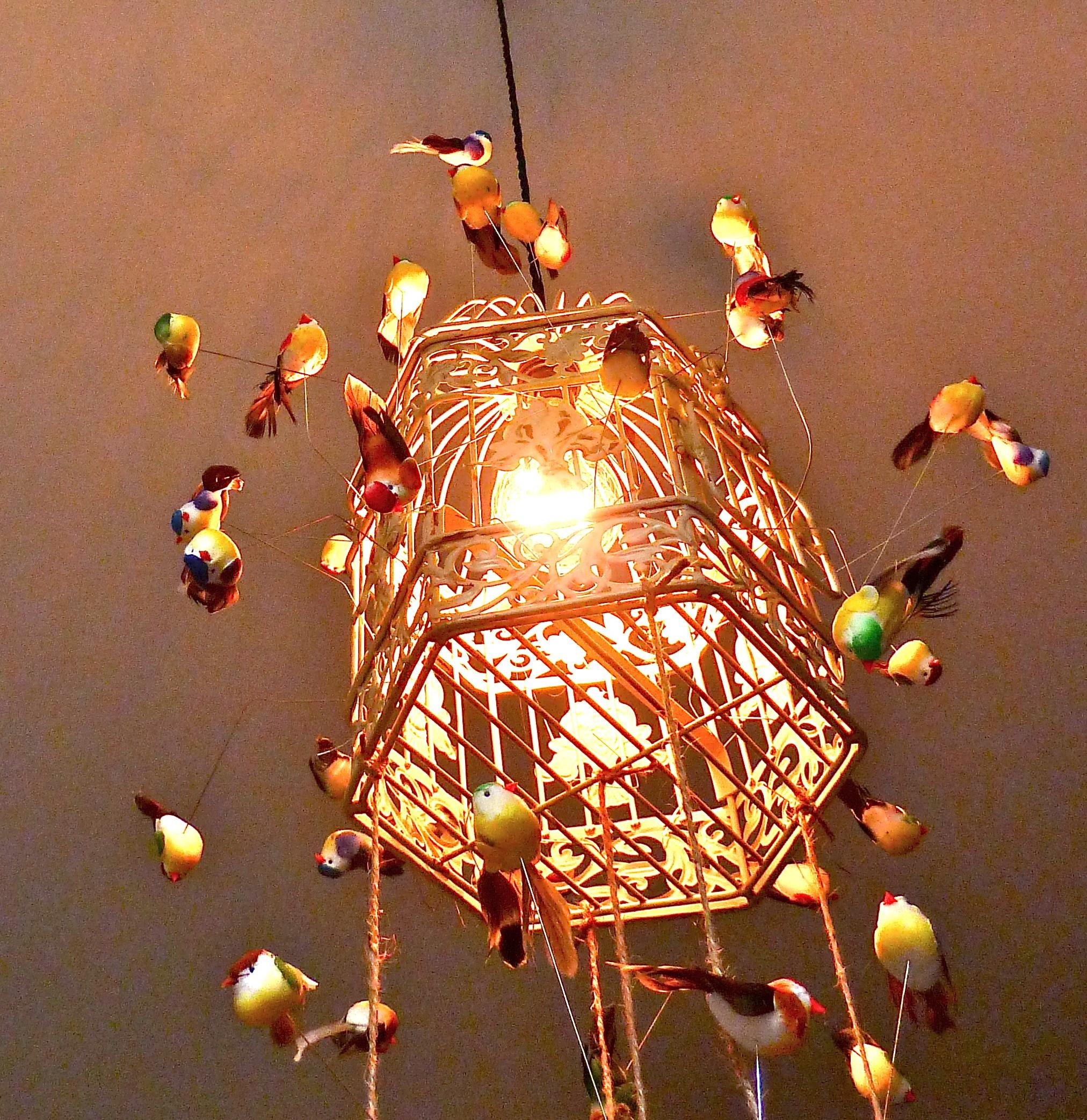 sold cherub of lamp ideas gim in table floor lighting luxury brass coach vintage inspirational birdcage