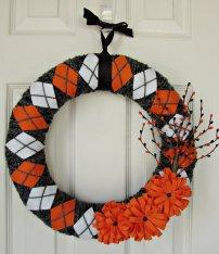 http://www.etsy.com/nz/listing/104885946/halloween-yarn-wrapped-argyle-wreath